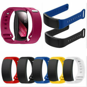 Sports Silicone Watch Band Strap For Samsung Galaxy Gear Fit 2 pro sm r360 R365