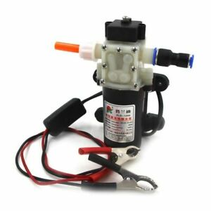 Electric Dc 12v Oil Pump Diesel Fuel Oil Engine Extractor Powered By Car Battery