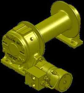 Bloom Mfg 12 000 Lbs Hydraulic Winch With Duet safe Braking free Shipping