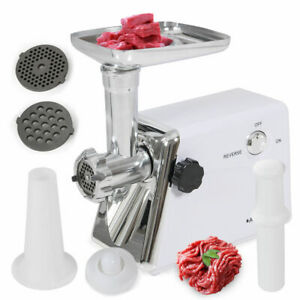 Industrial 1400 Watt Electric Meat Grinder Steel Coarse Fine Medium Ce Listed