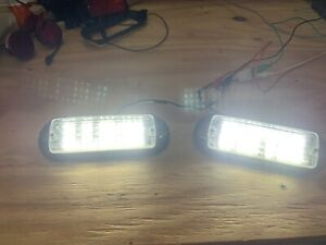 2 White Whelen 5mm Led 500s