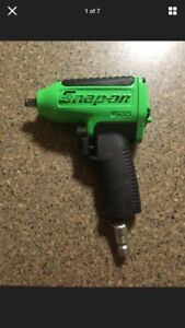 Snap On Mg325 3 8 Drive Super Duty Air Impact Wrench Green Ships Free