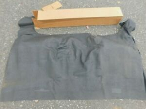 Nos 1960 1961 1962 1963 Plymouth Valiant Dodge Lancer Rear Seat Floor Mat Black