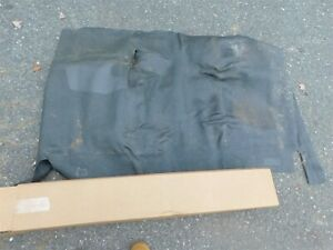 Nos 1960 1961 1962 Plymouth Valiant Vintage Obsolete Front Rubber Floor Mat Nos