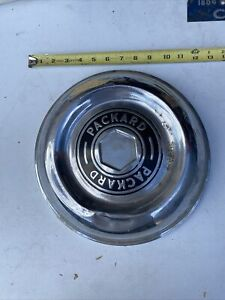 Single 1940s Packard Hub Cap