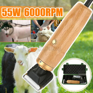 110v Sheep Goat Shearing Clipper Animal Shave Grooming Electric 6000rpm 33teeth