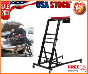 Engine Access Collapsible Hightop Creeper For Mechanic W Adjustable Padded Deck