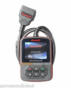 Ford Lincoln Mercury Diagnostic Scanner Tool Abs Fault Code Reader Icarsoft I920