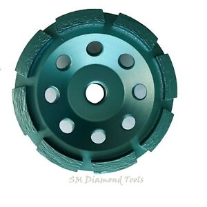 4 Premium Single Row Cup Wheel 5 8 Threaded Concrete Surface Grinding