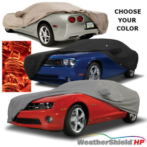 Covercraft Weathershield Hp Car Cover 2004 To 2019 Cadillac Cts V Coupe Sedan