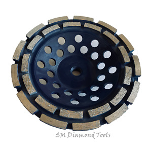 7 Top Quality Double Rim Cup Wheel Thread Fast Surface Grinding Concrete Brick