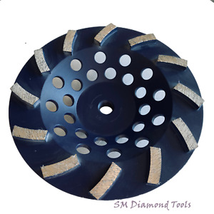 7 Top Quality Turbo Cup Wheel 12 Teeth Fast Surface Grinding Concrete Brick
