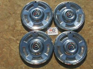 1967 Chevy Chevelle Malibu 14 Wheel Covers Hubcaps Set Of 4
