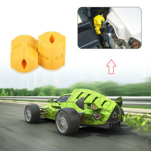 Tow Magnetic Gas Fuel Power Saver For All Car Motorcycles Truck Reduce Emission