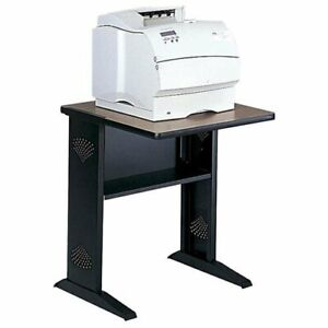 Safco Reversible Top Fax printer Stand Steel Black 1934