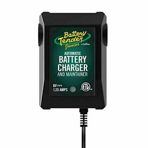 Battery Tender Junior 6v 1 25a Battery Charger And Maintainer Fully Automatic