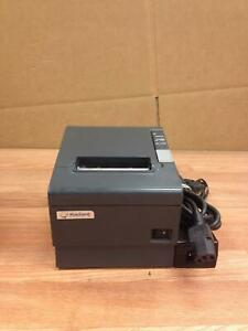 Epson Tm t88iv M129h Ethernet Pos Printer Auto cutter With Power Ac Adapter