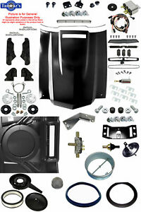 70 72 Chevelle Ss Malibu Steel Cowl Induction Hood Air Cleaner Conversion Kit
