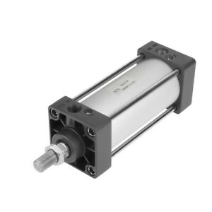 Pneumatic Air Cylinder 63mm Bore 100mm Stroke Threaded Piston Rod Dual Action