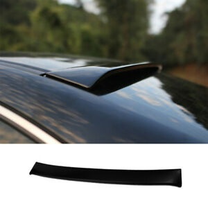 Fit For Honda Accord 8th 2008 2013 Abs Black Roof Boot Spoiler Wing Flap 1pcs