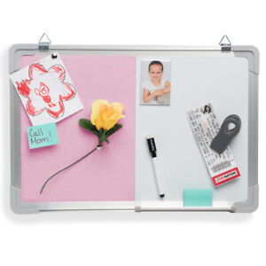 Bulletin Whiteboard Magnetic Dry Erase Combination Board Office Home D cor