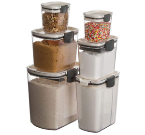 6 Piece ProKeeper Clear Storage Container Set by Progressive Variety $148.90