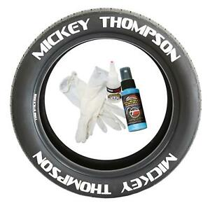 Tire Lettering Pre Curved Permanent Raised Letters Mickey Thompson Set Of 8