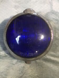 Unity Mfg Co Chicago U S A Blue Lens Light 7in