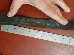 K o Lee Sd 1 1 4 X 24 Grinder Belts Themac Emco Grizzly Dumore Belt
