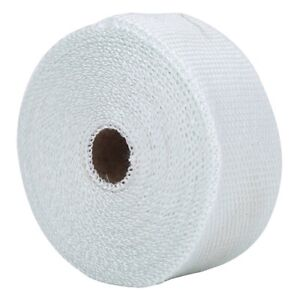 Exhaust Pipe Wrap Exhaust Heat Wrap White High Heat Insulation Heat Insulation