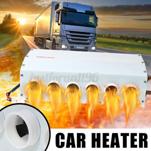 24v 6 Vent Car Truck Under Dash Copper Heater Warmer Window Defroster Demister