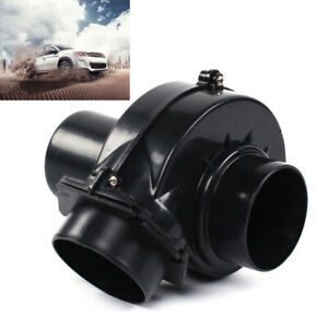 Car Electric Turbocharger Supercharger Fits 3 Cold Air Short Ram Intake Turbo