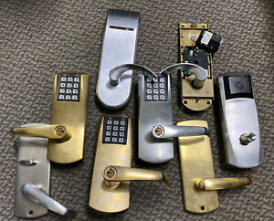 Lot Of 8 Kaba Ilco Series Security Door Handle Made In Canada Used