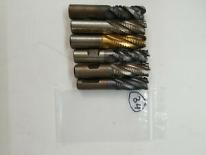 3 4 Roughing End Mills Lot