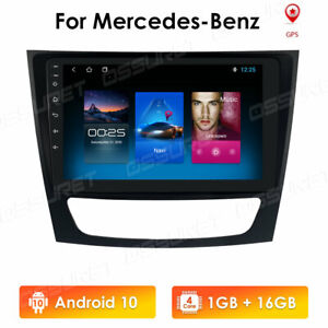 For Mercedes Benz W211 E Cls 9 Inch Android 10 Car Stereo Radio Gps Navigation