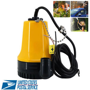 Dc12v Submersible Electric Water Pump Clean Dirty Pond Flood 6000l h New