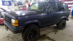 1987 1990 Ford Bronco 2 Rear Axle Assembly 373 9 Brakes Limited Slip