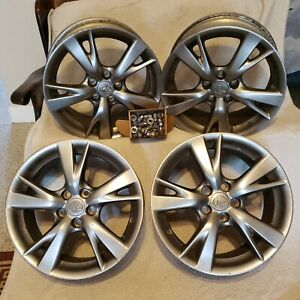 18 Oem Lexus Is 250 350 Wheels Set Of 4 With Oem Lug Nuts And Center Caps