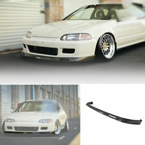 For Honda Civic Eg 1992 1995 Dry Carbon Fiber Bys Front Bumper Lip Chin Spoiler