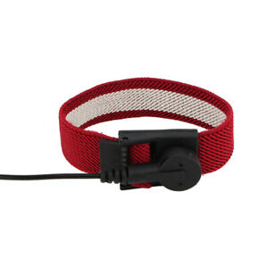1pc Anti Static Adjustable Wrist Strap Band Ground Bracelet High Quality