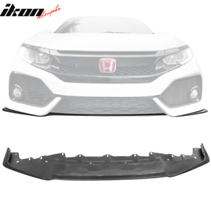 Replacement Front Lip For 16 20 Honda Civic Si Oe Style Front Bumper Cover Pp