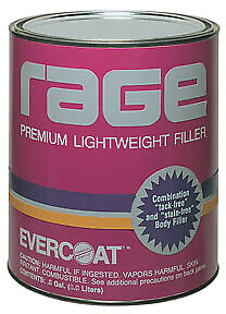 Rage Premium Lightweight Body Filler Gallon Fib 106