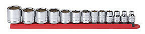 3 8 Dr 6 Pt Standard Sae Socket Set 13 Pc Kdt 80553