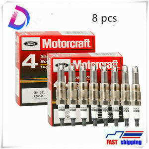 8pcs Motorcraft Platinum Spark Plugs Sp 515 For Fd F150 5 4l Pzh14f Sp546