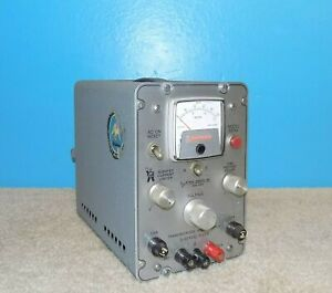Pd Power Designs Inc 5015a Dc Power Supply 0 50vdc 1 5a Working Free Shipping