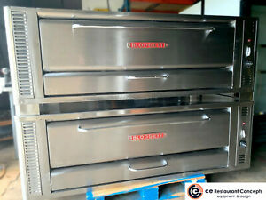 Used Blodgett 1060 Pizza Oven Double Deck