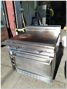 Used Jade Titan Heavy duty Gas French Top Range Ng Jtrh 2fht 36