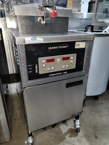 Used Henny Penny Computron 1000 Pressure Fryer Gas ng Pfg 600