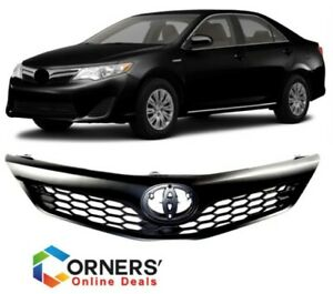 Fits For Toyota Camry Se 2012 2014 Front Hood Grille Replacement Grill