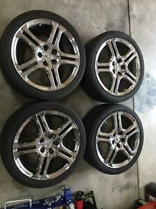 Acura Tl Oem Aspec Wheels 18x8 No Tires